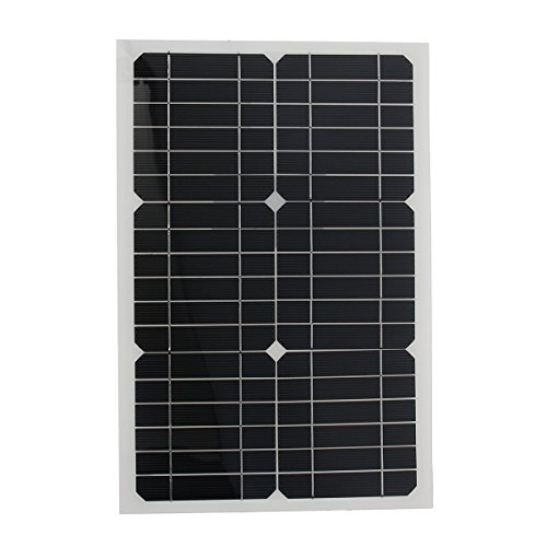 Elfeland-EL-07-18V-20W-42x28x025cm-Semi-Flexible-Solar-Panel-With-Sun-Power-Chip-3M-Cable-0-0