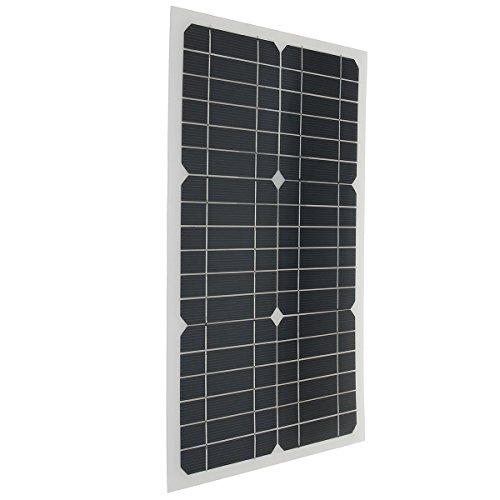 Elfeland-EL-07-18V-20W-42x28x025cm-Semi-Flexible-Solar-Panel-With-Sun-Power-Chip-3M-Cable-0