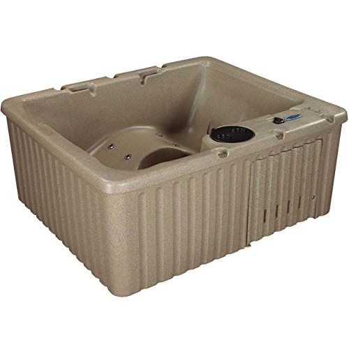 Essential-Hot-Tubs-Newport-14-Jets-Lounger-Rotationally-Molded-Cobblestone-0