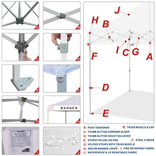 Eurmax-Basic-10×10-Ez-Pop-up-Canopy-Screen-Houses-Shelter-Commercial-Tent-Mesh-Walls-Roller-Bag-0-1