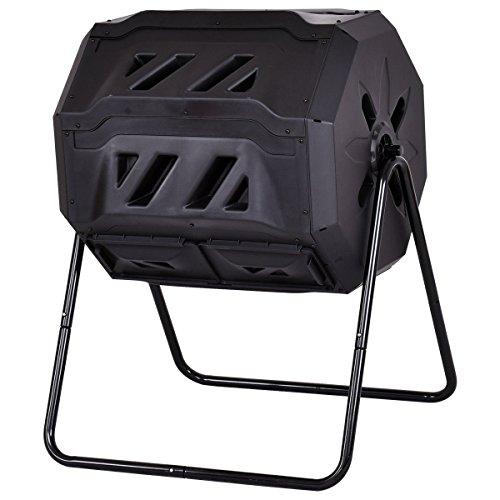 FDInspiration-Black-42-Gallon-PP-Fertilizer-Compost-Tumbler-Garden-Waste-Bin-wAdjustable-Air-Vents-Ebook-0-1