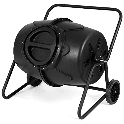 FDInspiration-Black-PP-50-Gallon-Garden-Waste-Bin-Fertilizer-Compost-Tumbler-wWheeled-Ebook-0
