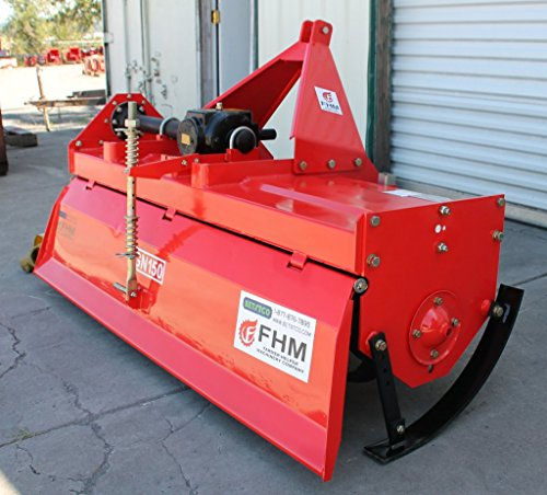 Farmer-Helper-59-Tiller-Heavy-Duty-CatI-3pt-25hp-Rating-FH-IGN150-wSlipClutch-Driveline-Requires-a-Tractor-Not-a-standalone-Unit-0-0