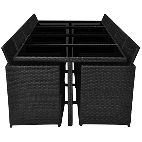 Festnight-33-Piece-Patio-Outdoor-Rattan-Dining-Set-Black-0-2