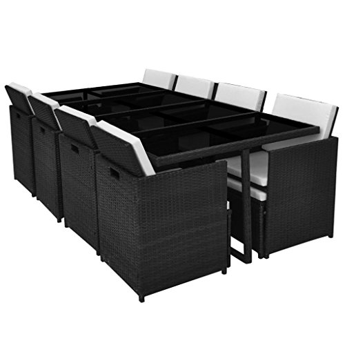 Festnight-33-Piece-Patio-Outdoor-Rattan-Dining-Set-Black-0