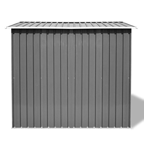Festnight-Outdoor-Garden-Storage-Shed-Gray-Metal-1012-x-807-x-701-0-2