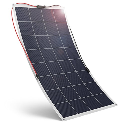 Flexible-Solar-Panel-120W-18V-RAVPower-Solar-Charger-Polycrystalline-High-Efficiency-Bendable-Design-for-Boat-Trailer-Tent-Other-Off-Grid-Applications-0