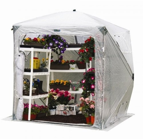 Flower-House-FHOH400-OrcidHouse-Hub-Style-Greenhouse-0