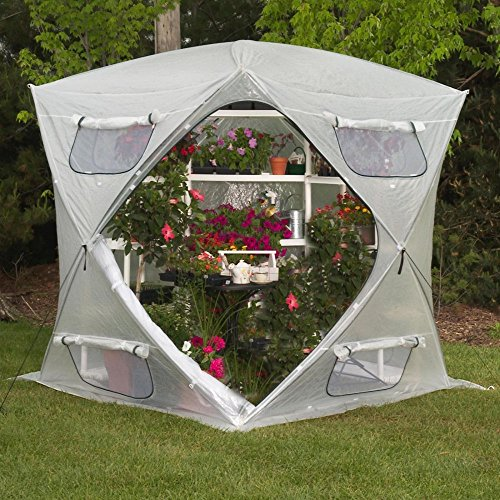 FlowerHouse-Bloom-House-7-x-7-Foot-Portable-Greenhouse-0
