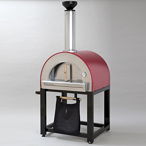 Forno-Venetzia-FVP300R-Pronto-300-Red-Outdoor-Pizza-Oven-0-1
