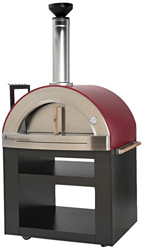 Forno-Venetzia-FVTOR300R-Torino-300-Red-Outdoor-Pizza-Oven-0