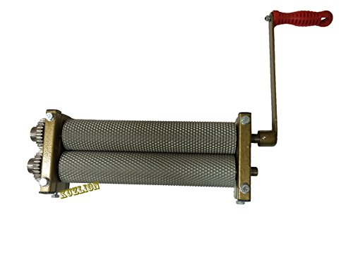 Foundation-machine-mill-finish-Beeswax-rollers-for-the-production-of-honeycombs-0