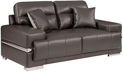 Furniture-of-America-Zibak-Gray-Loveseat-0