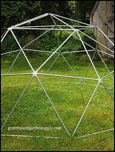 GEODESIC-DOME-12-Ft-Frame-Only-Greenhouse-for-Aquaponics-0