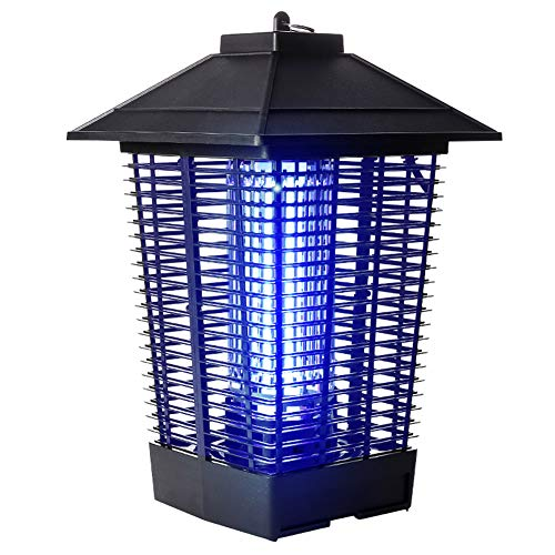 GGCG-Insect-killer-lamp-outdoor-mosquito-lamp-windproof-waterproof-garden-farm-farm-insect-trap-black-2440-cm-0