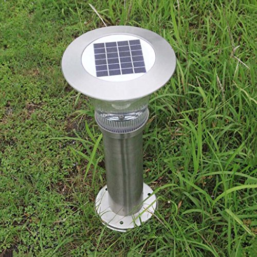 GJX-Solar-Lawn-Lights-IP65-Waterproof-LandscapePathway-Lamp-Stainless-Steel-LED-Outdoor-Solar-Lights-For-Patio-Lawn-Yard-Walkway-Easy-Install-No-Wires-0-1