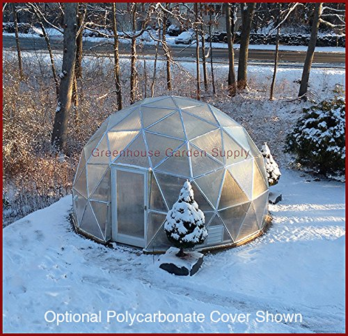 GREENHOUSE-GEODESIC-DOME-16-FT-With-Marine-Poly-Cover-for-Hydroponic-Gardening-0