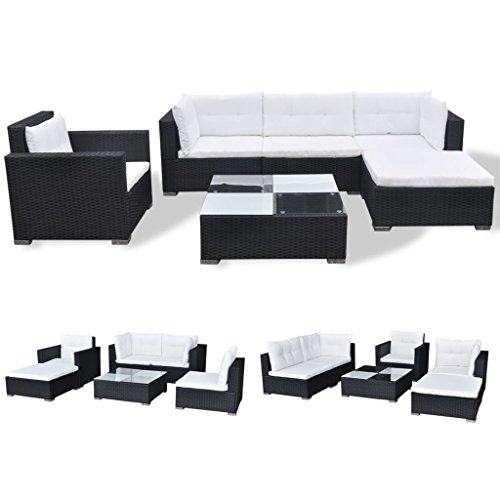 Garden-Sofa-Set-17-Pieces-Poly-Rattan-Black-Modular-Dining-Set-Weather-resistant-and-Waterproof-PE-Rattan-Sofa-Set-Suitable-for-Outdoor-Daily-Use-0-0