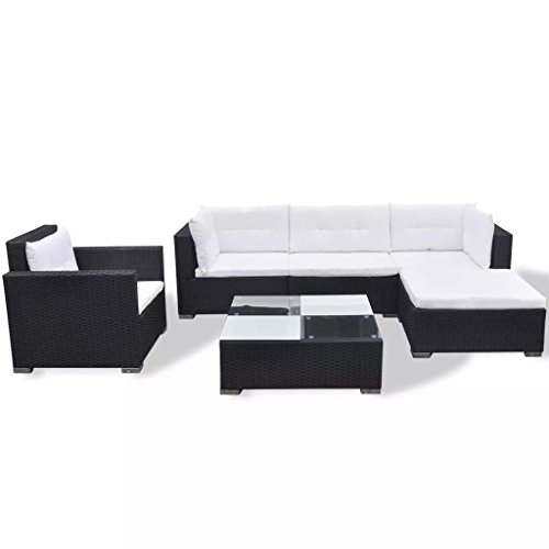Garden-Sofa-Set-17-Pieces-Poly-Rattan-Black-Modular-Dining-Set-Weather-resistant-and-Waterproof-PE-Rattan-Sofa-Set-Suitable-for-Outdoor-Daily-Use-0-1