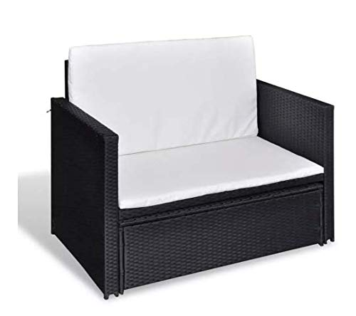Garden-Sofa-Set-Five-Pieces-Poly-Rattan-Black-Space-Sturdy-Lightweight-Outdoors-Furniture-Waterproof-Powder-Coated-Steel-Frame-PE-Rattan-484-x-46-x-26-SKB-Family-0-1