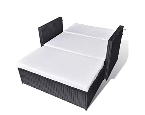 Garden-Sofa-Set-Five-Pieces-Poly-Rattan-Black-Space-Sturdy-Lightweight-Outdoors-Furniture-Waterproof-Powder-Coated-Steel-Frame-PE-Rattan-484-x-46-x-26-SKB-Family-0-2