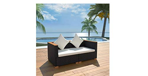 Garden-Sofa-Set-Six-Pieces-Poly-Rattan-WPC-Top-Black-Durable-Comfyleads-0