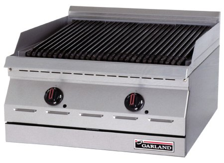 Garland-ED-30B-Designer-Series-Electric-Countertop-Charbroiler-with-30W-x-17-14D-Cooking-Area-Infinite-Controls-0