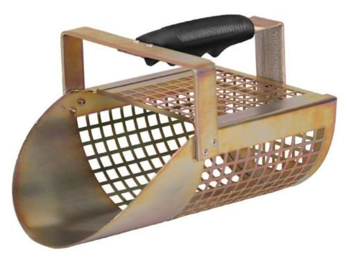 Garrett-ACE-400-Metal-Detector-with-DD-Waterproof-Coil-Metal-Scoop-and-Edge-Digger-0-1