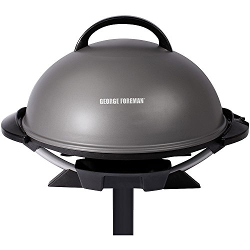 George-Foreman-240-Nonstick-Removable-Stand-IndoorOutdoor-Electric-Grill-0-0