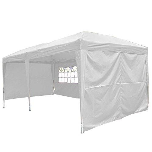 Giantex-10×20-Ez-POP-up-Wedding-Party-Tent-Folding-Gazebo-Beach-Canopy-Wcarry-Bag-White-0