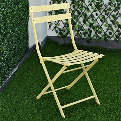 Giantex-3-PC-Folding-Table-Chair-Set-Outdoor-Patio-Garden-Pool-Backyard-Furniture-0-2