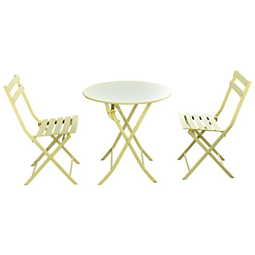 Giantex-3-PC-Folding-Table-Chair-Set-Outdoor-Patio-Garden-Pool-Backyard-Furniture-0
