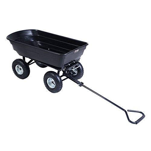 Giantex-600lb-Garden-Dump-Cart-Dumper-wHeavy-Duty-Steel-Frame-Pneumatic-Tires-Wagon-Carrier-Wheel-Barrow-0-0
