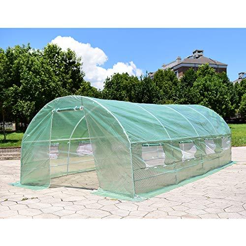 Giantex-Portable-Walk-in-Greenhouse-Plant-Grow-Tents-Steel-Frame-Garden-Backyard-Outdoor-Gardening-Green-House-wWindows-Doors-0-1