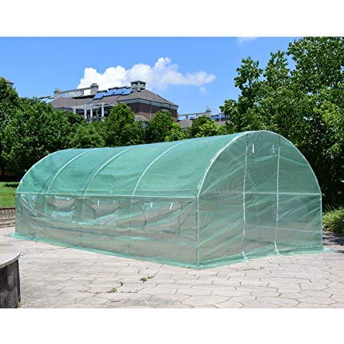Giantex-Portable-Walk-in-Greenhouse-Plant-Grow-Tents-  sc 1 st  Green Lawn u0026 Garden Store & Giantex Portable Walk in Greenhouse Plant Grow Tents Steel Frame ...