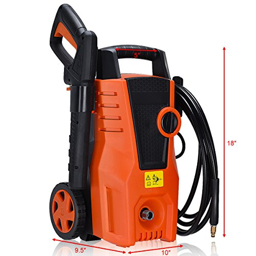 Globe-House-Products-GHP-1400PSI-2000W-16GPM-Electric-High-Pressure-Washer-Sprayer-Cleaner-with-2-Wheels-0-0