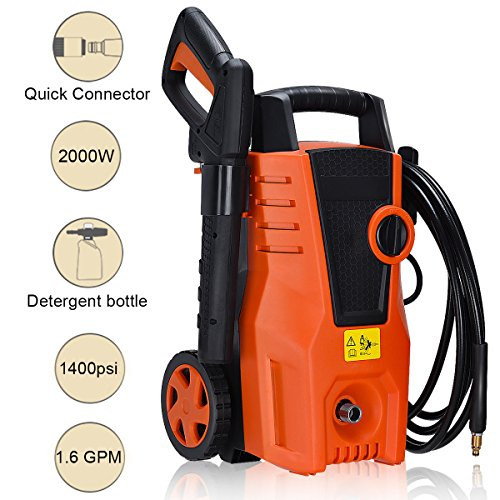 Globe-House-Products-GHP-1400PSI-2000W-16GPM-Electric-High-Pressure-Washer-Sprayer-Cleaner-with-2-Wheels-0-1