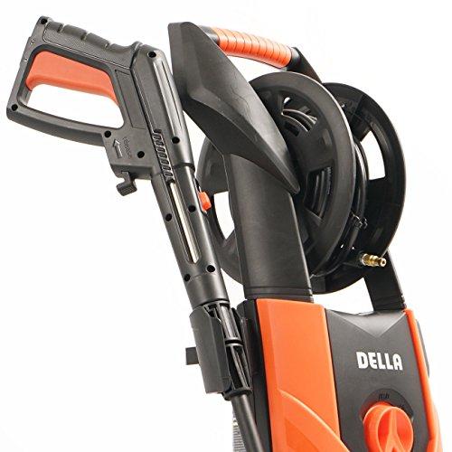 Globe-House-Products-GHP-Orange-Black-145-Wx15-Lx31-H-2300-PSI-14GPM-Burst-Electric-Pressure-Washer-0-0