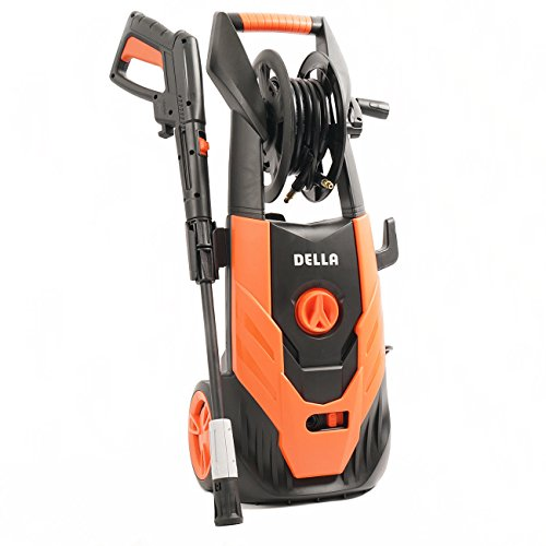 Globe-House-Products-GHP-Orange-Black-145-Wx15-Lx31-H-2300-PSI-14GPM-Burst-Electric-Pressure-Washer-0