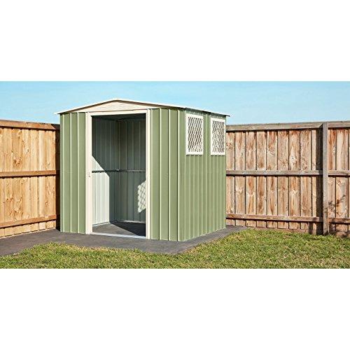 Globel-8-x-6-ft-Gable-Roof-Storage-Shed-0-2