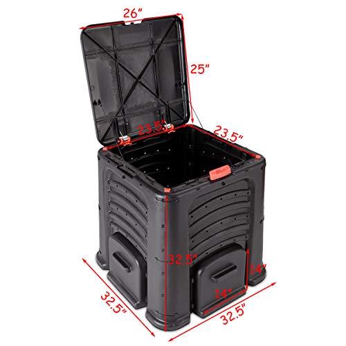 Goplus-105-Gallon-Classic-Compost-Bin-Large-Garden-Waste-Bin-Grass-Food-Trash-Fertilizer-Barrel-Soil-Saver-Outdoor-Composter-Black-0-2