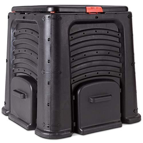 Goplus-105-Gallon-Classic-Compost-Bin-Large-Garden-Waste-Bin-Grass-Food-Trash-Fertilizer-Barrel-Soil-Saver-Outdoor-Composter-Black-0