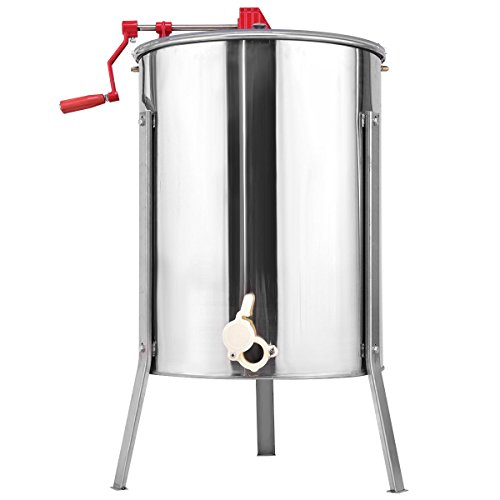 Goplus-Large-48-Frame-Honey-Extractor-Honey-Separator-Stainless-Steel-Manual-Crank-Pro-Extraction-Equipment-Manual-Beekeeping-Equipment-with-Stand-0