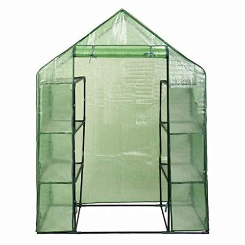 Goplus-Portable-Greenhouse-8-Shelves-Mini-Walk-in-Outdoor-Green-House-4-Tier-wPE-Cover-for-Garden-Patio-Backyard-56-29–77-0