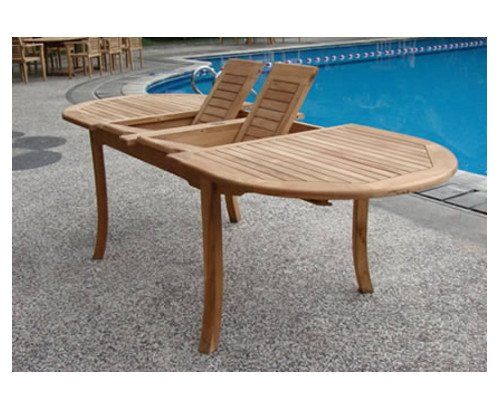 Grade-A-Teak-Wood-Extra-Large-double-extension-117-Oval-Dining-Table-WHDT118O-0