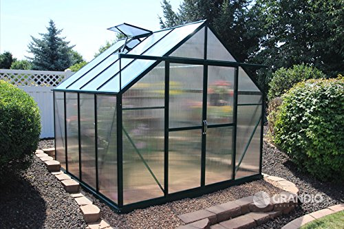 Grandio-Ascent-8×8-Greenhouse-Kit-6mm-Twin-Wall-Polycarbonate-0-0