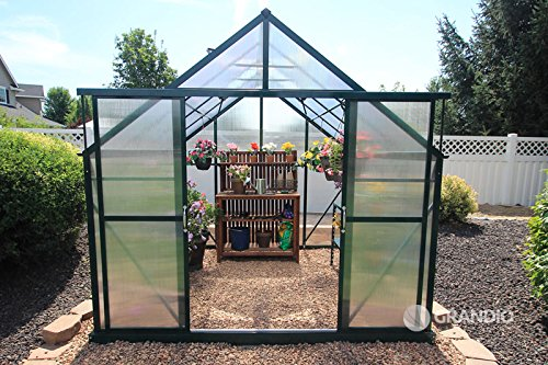 Grandio-Ascent-8×8-Greenhouse-Kit-6mm-Twin-Wall-Polycarbonate-0-1
