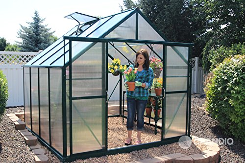 Grandio-Ascent-8×8-Greenhouse-Kit-6mm-Twin-Wall-Polycarbonate-0
