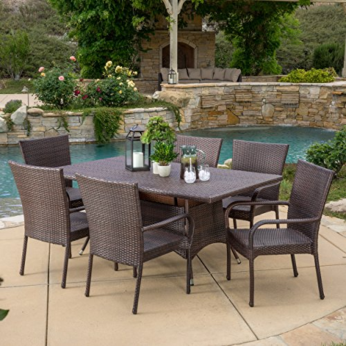 Great-Deal-Furniture-Kory-Outdoor-7pc-Multibrown-Wicker-Dining-Set-0