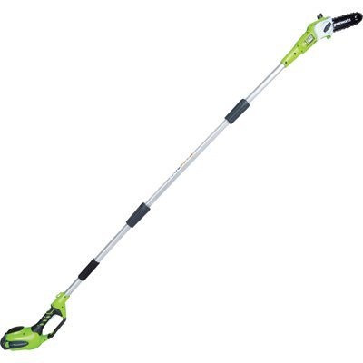 GreenWorks-40V-G-Max-Cordless-Lithium-Ion-Pole-Saw-8in-Bar-Model-20672-0